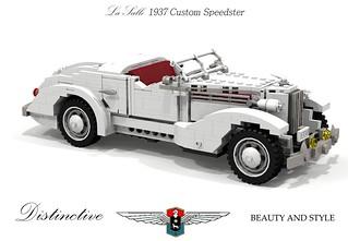 LaSalle 1937 Custom Speedster - (by Hollywood Coachworks under Frank Kurtis)