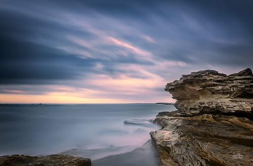 longexposure seascape sunrise published botanybay laperouse bareisland