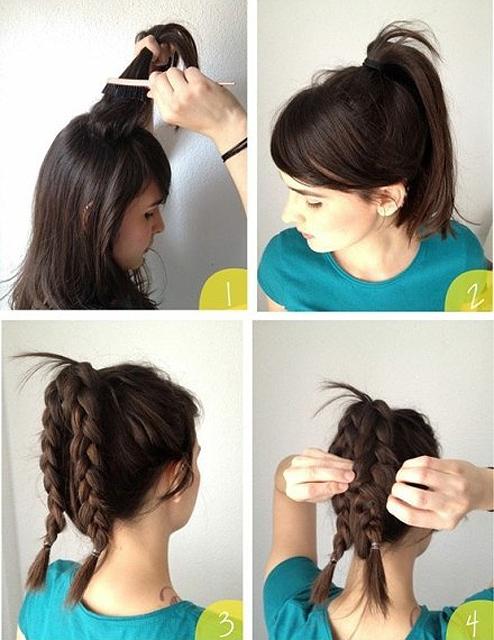 Cách búi tóc đẹp đơn giản! Kiểu búi tóc cao, phồng, xì tin 10