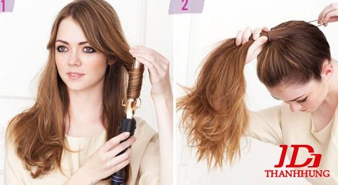 Cách búi tóc đẹp đơn giản! Kiểu búi tóc cao, phồng, xì tin 6