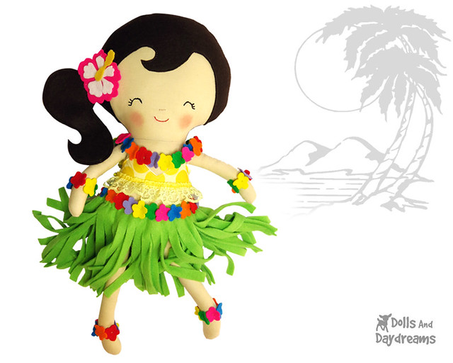 Hula Girl Sewing Pattern
