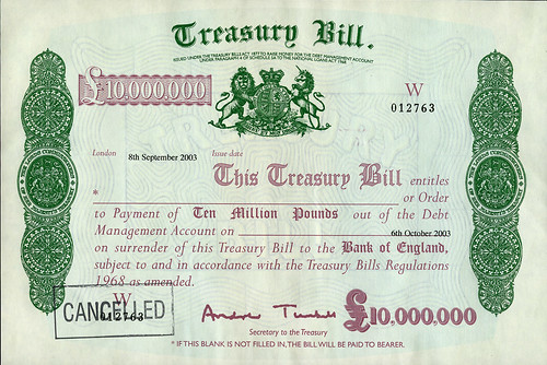 treasury bills He first gives us 11 reasons to continue favoring long treasury bonds that's an  obvious play for him if you know his view, but it's nevertheless.