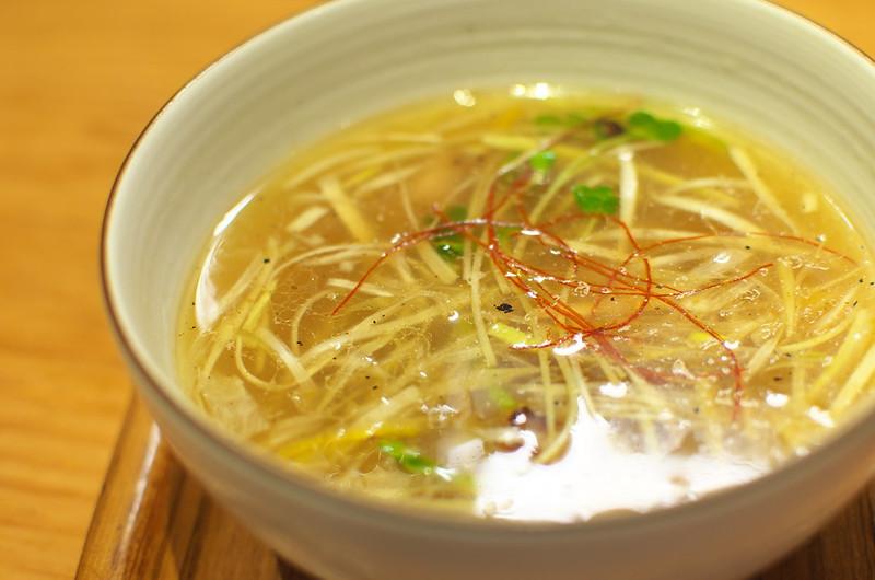 東京路地裏散歩 上野から谷中 麺やひだまり 2014年9月14日
