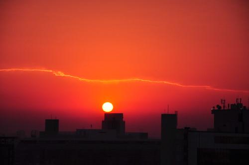 brazil brasil sunrise landscape horizon ngc paisagem redsky horizonte centrodesãopaulo 18105mm nikond90