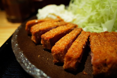 Beef Cutlets in Asakusa
