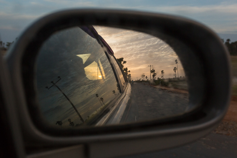 Rearview mirror, Velanai island