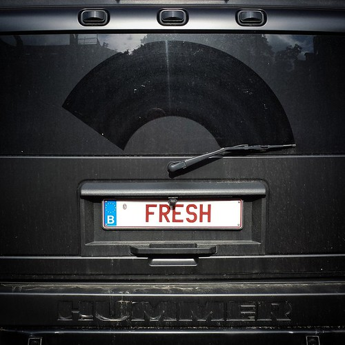'Contradiction' - #brussels #belgium 2014 #fresh #hummer #car #photography