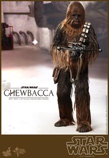 Hot Toys – MMS262 – 星際大戰:四部曲 曙光乍現【邱巴卡】1/6 比例 Star Wars Chewbacca