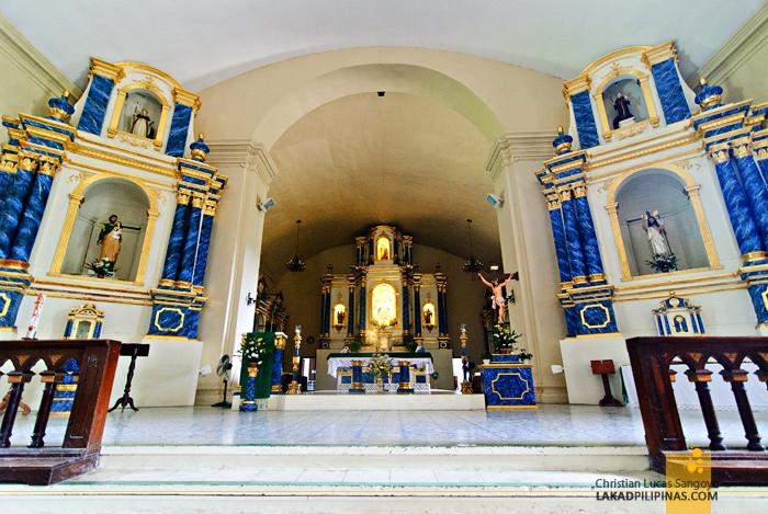 Retablo of Santa Maria Church in Ilocos Sur