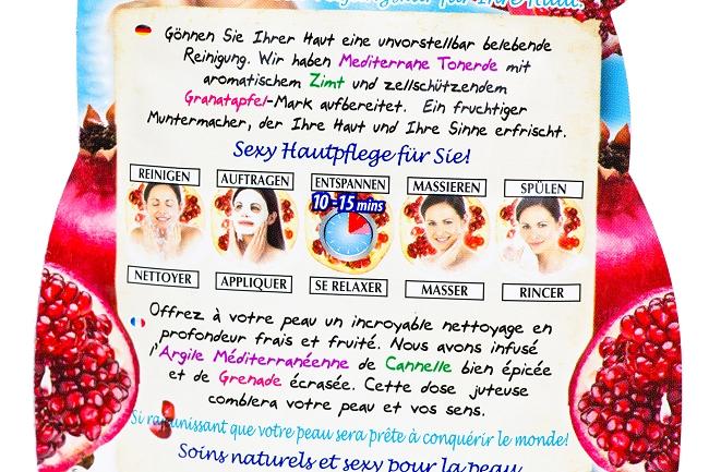 Schön für mich, Rossmann, sfmbox, Beautybox, Schön für mich Juni 2014, Montagne Jeunesse Tuchmaske mit Roter Tonerde