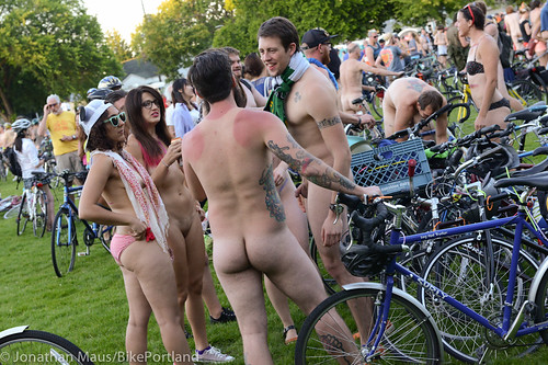 2014 World Naked Bike Ride -17