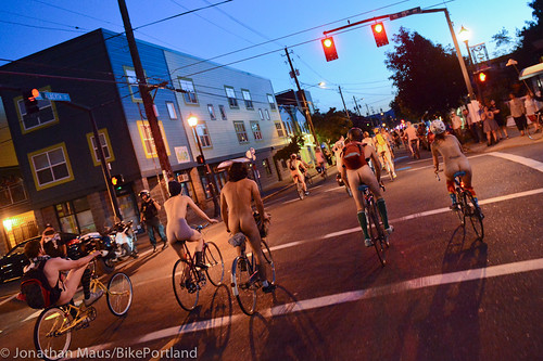2014 World Naked Bike Ride -69