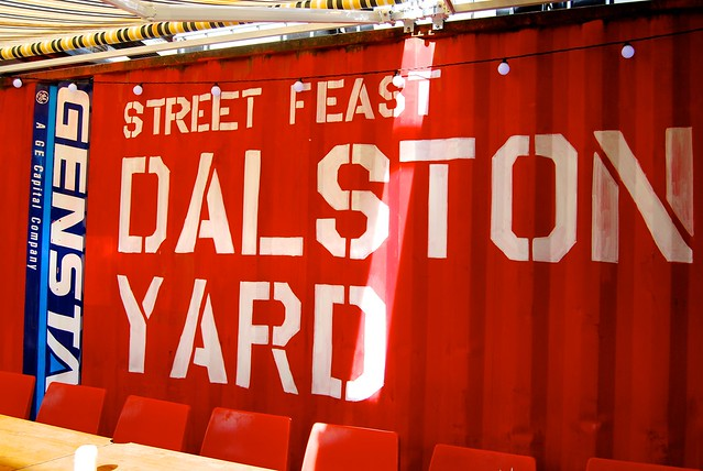 Street Feast London Dalston Yard