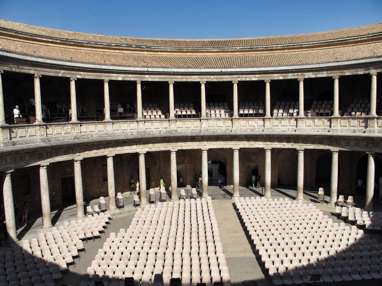 la alhambra de granada_palacio carlos V_hispania nostra_II