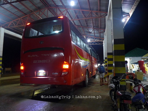 We rode this non-airconditioned bus going to Cagayan de Oro at around 3:11 AM. DDD Habitat Inc. at Lorega, Kitaotao, Bukidnon