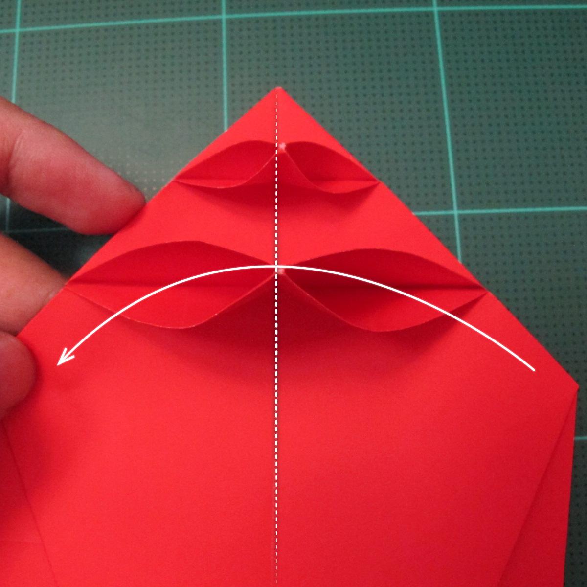 การพับกระดาษเป็นรูปสัตว์ประหลาดก็อตซิล่า (Origami Gozzila) 030