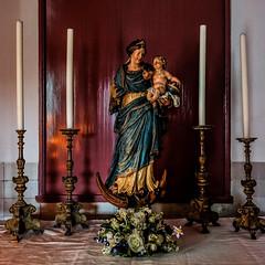 Amsterdam - Ons' Lieve Heer op Solder 09 - Maria op maansikkel en slang