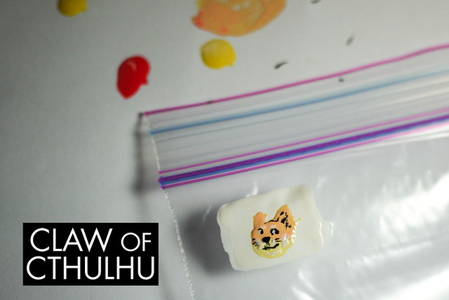Making a DIY Doge Meme Nail Decal