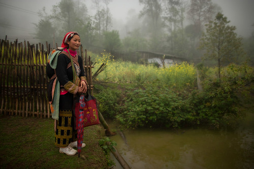 Local Hmong people Ta Phin Village