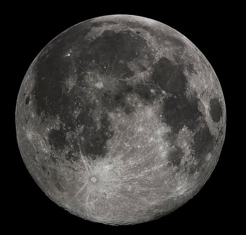 Moon Photo by Wikipedia
