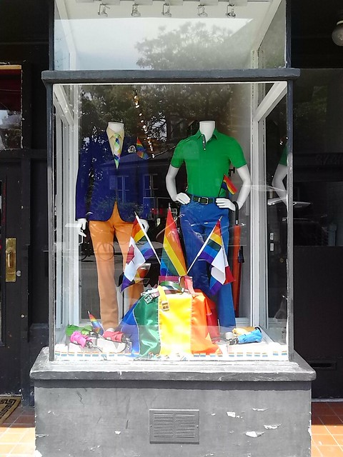 Pride-themed storefront in The Annex (2)