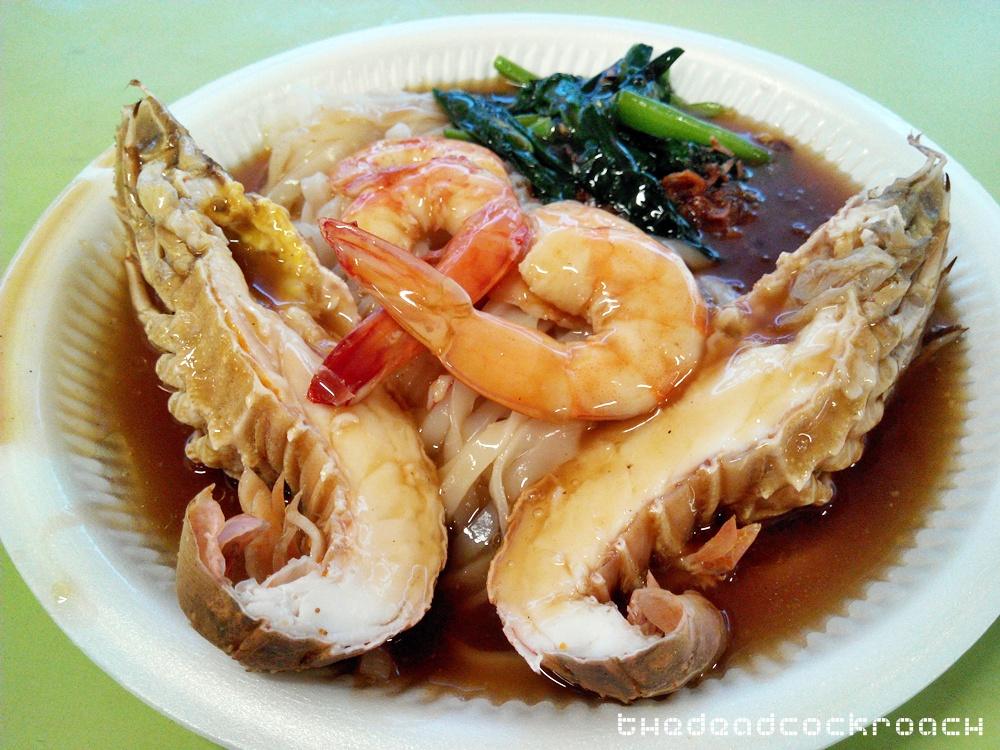 crayfish hor fun, food, food review, hong lim market & food centre, tuck kee ipoh sah hor fun, 德记怡保沙河粉, 虾婆河粉, review,singapore