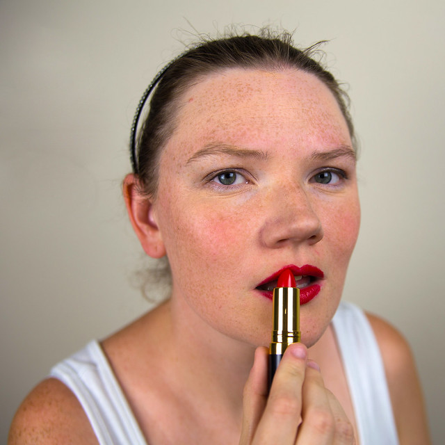 Perfect Red Lip Tutorial-9