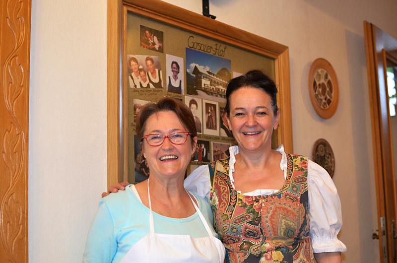 Anni and Brigitte, Gosauer-hof, Gosau, Austria