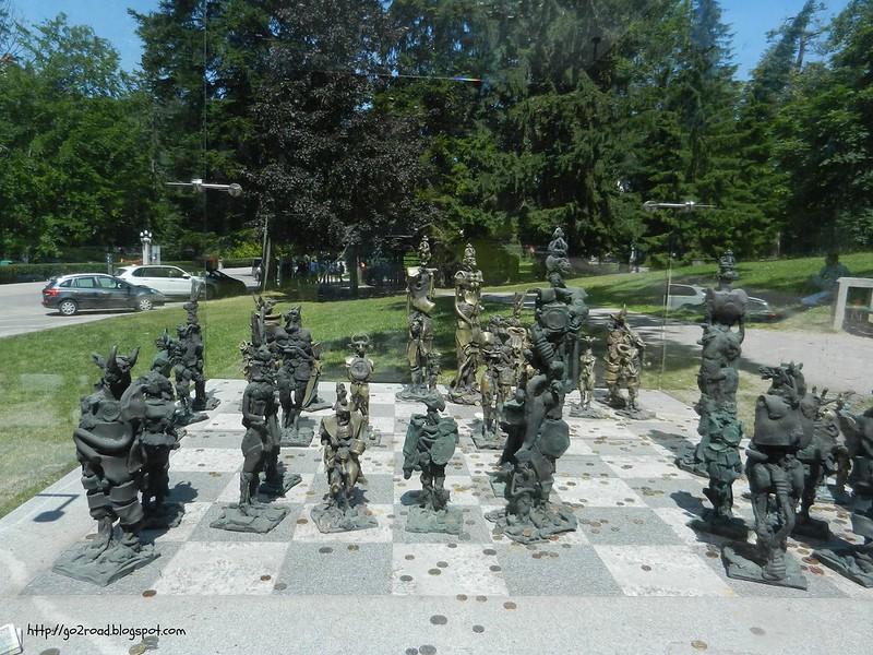 Словенское шахматное поле
