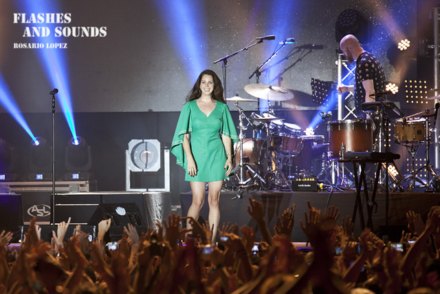 Lana Del Rey at Vida Festival