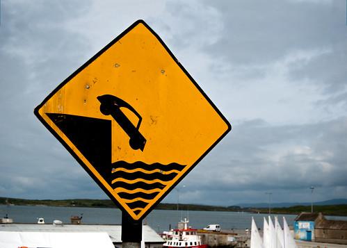 Quay unprotected