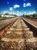 По тундре, по железной дороге, Где курсирует поезд «Воркута-Ленинград».