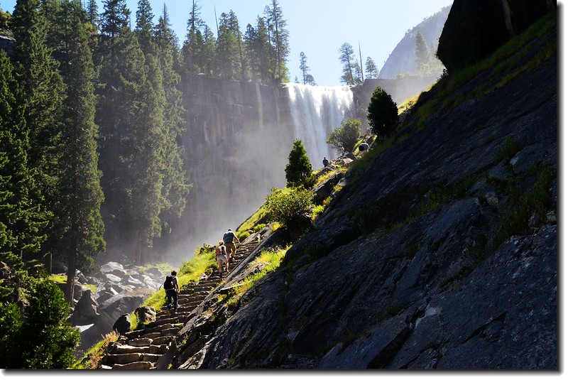 Vernal Falls, Yosemite National Park 1