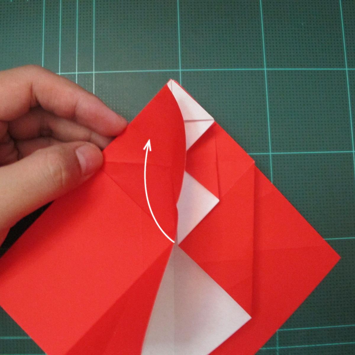 การพับกระดาษเป็นรูปสัตว์ประหลาดก็อตซิล่า (Origami Gozzila) 017