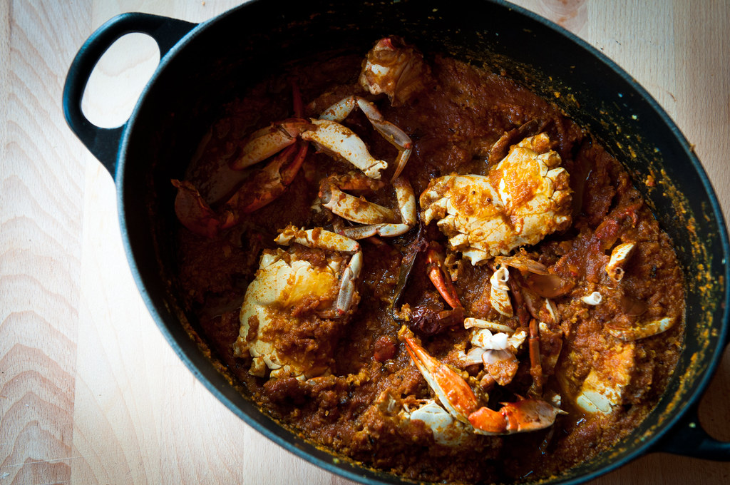 Madras Crab Curry