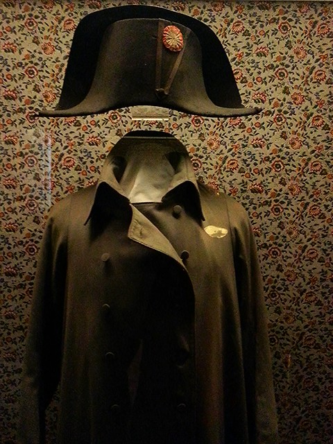 Fontainebleau, napoleon hat and coat