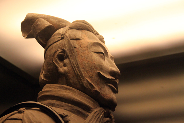 Terracotta warrior - detail