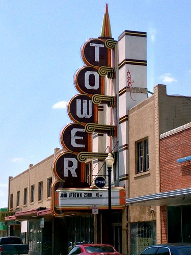 Tower Theatre - Route 66, Oklahoma City, Oklahoma