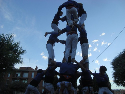 FM Sant Joan Despí. Castellers d'Esplugues