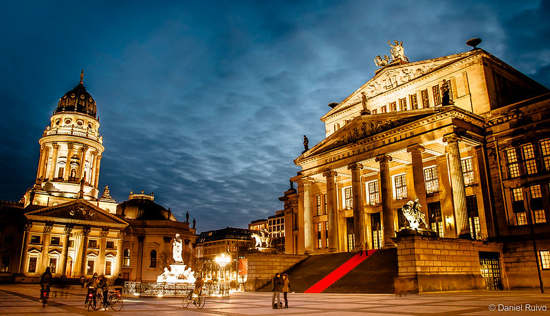 Deutscher Dom and Konzerthaus at Gendarmenmarkt - Berlin