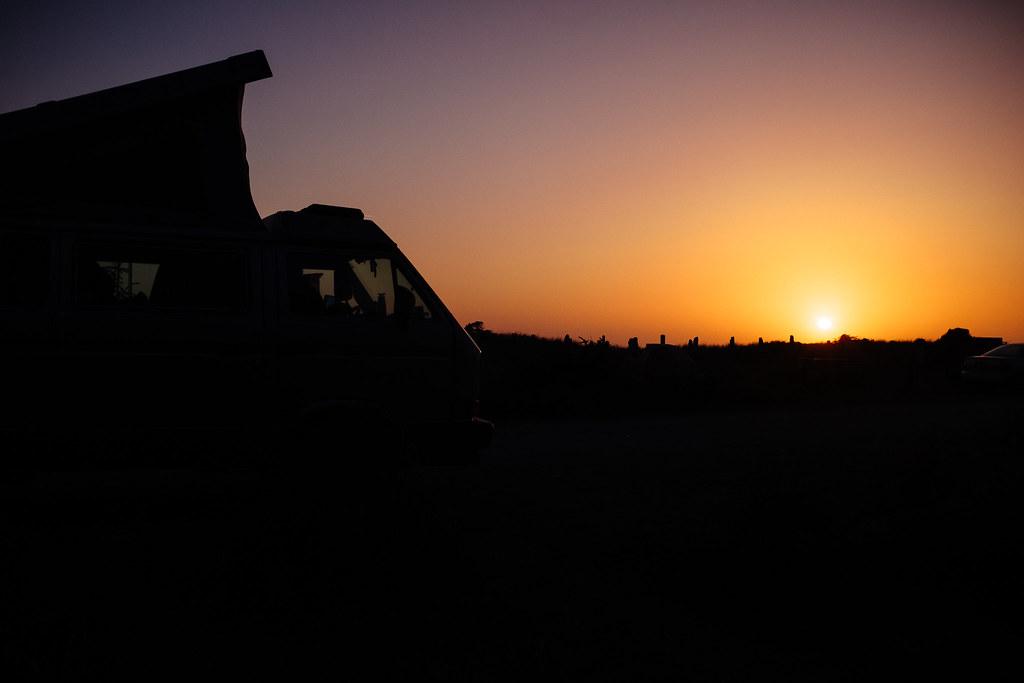 Gold Bluffs Sunset