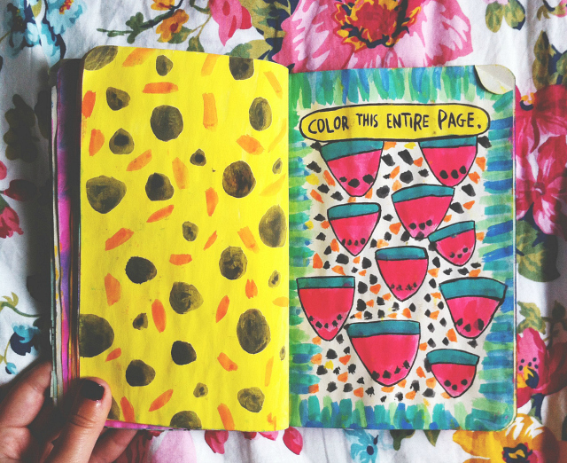 wreck this journal color this page vivatramp uk lifestyle book blog