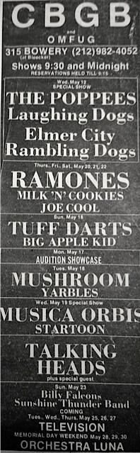 CBGB 05-12-76