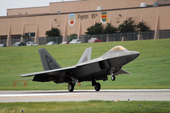 lockheed martin f-22 raptor, aviation, airplane, wing, vehicle, fighter aircraft, takeoff, jet aircraft, air force,