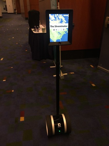 The Shreminator (Charlie Shrem's robot)