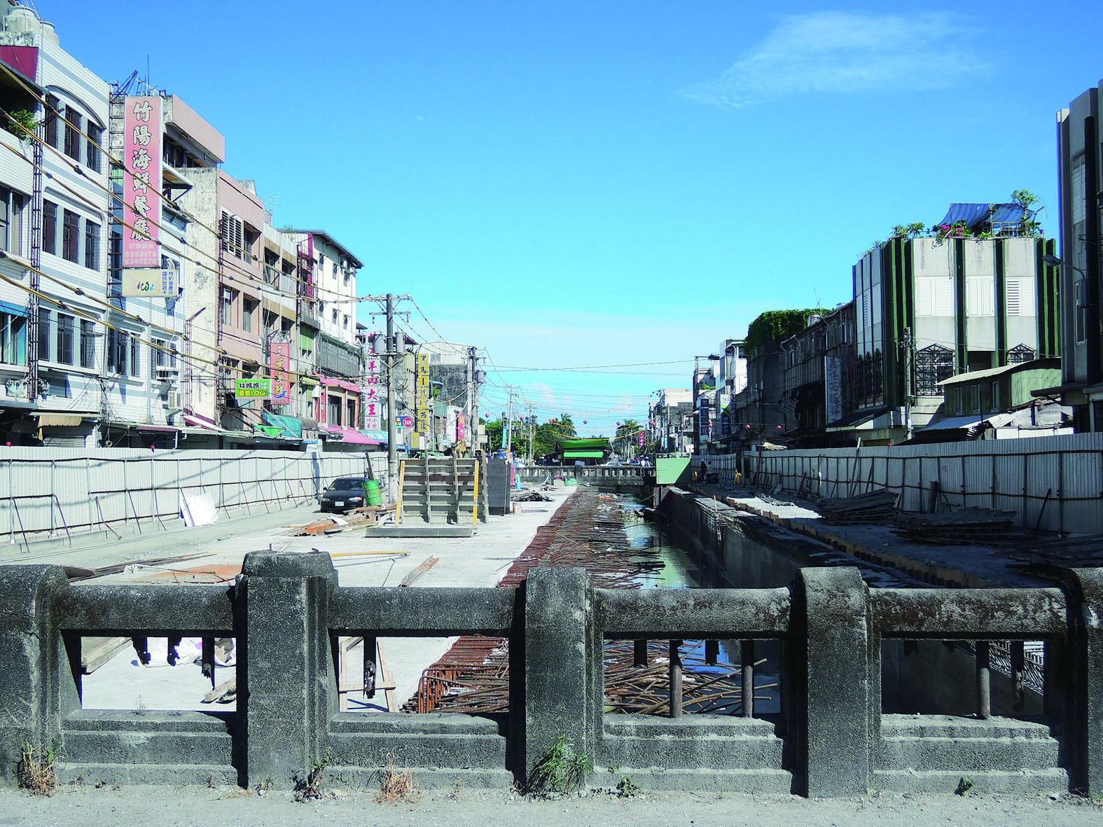 花蓮福住橋一景。(圖片來源:更生日報)
