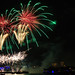 Colorful firework over the Rhine river von Circum_Navigation