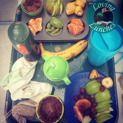 Loving today's picnic… #muffintinmeal #babyledweaning