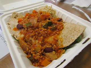 Vegan Burrito at Ruffage