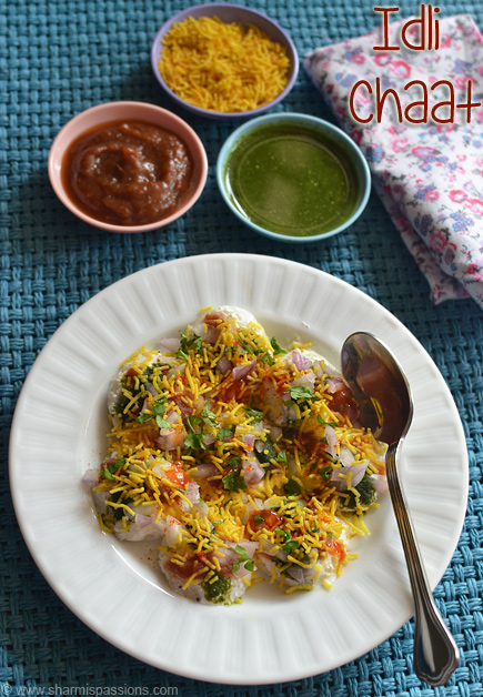 Idli Chaat Recipe
